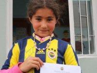 Küçük Semiye'nin Fenerbahçe hayali gerçek oldu