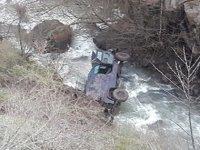 Giresun'da kahreden haber: Polis aracı dereye yuvarlandı Çok sayıda polis yaralandı