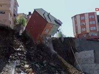 Kağıthane'de alarm: Binalar boşaltıldı