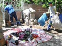 Adana'da 'çöp ev' beşinci kez temizlendi