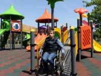 Engelli çocuklar hayallerine kavuştu