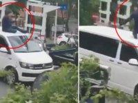 Korsana rekor ceza: Aracı bağlanan korsan taksici polise direndi