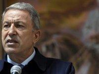 Yunanistan'la görüşme sonrası Bakan Akar'dan flaş açıklamalar