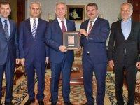 Azerbaycan Büyükelçisinden Başkan Yavaş'a ziyaret
