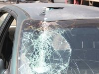 Ankara'da üst geçitten kopan parça kadının üstüne düştü