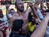 Ali Gürbüz, 3'üncü kez başpehlivan oldu