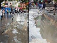 Ankara Kızılay Sokakları göle döndü