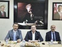 Mamak Kaymakamı Ziya Polat ve Mamak Belediye Başkanı Murat Köse Mamak için bir araya geldi