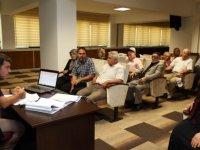 Yenimahalle Yamaçevler'de planlanan geri dönüşüm için halk yetkililerle buluştu