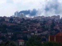 İstanbul'da 29 katlı binada yangın