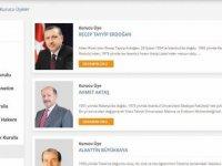 AK Parti kurucular listesi güncellendi