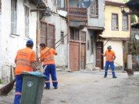 Hacı Bayram'da detaylı temizlik