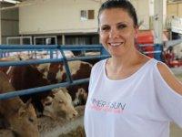 Kadın girişimci 'yapamazsın' diyenlere inat çiftlik kurdu
