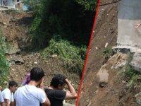 Zonguldak'ta heyelan: 6 ev kullanılamaz hale geldi
