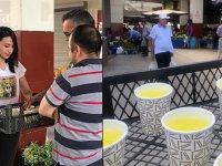 AK Parti Ankara İl Gençlik Kolları 'Limonata Çeşmesi'ni hayata geçirdi