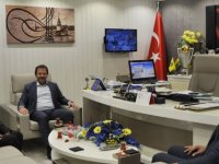 Mamak Belediye Başkanı Murat Köse'den MKE Ankaragücü Başkanı Mehmet Yiğiner'e ziyaret