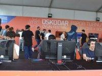 Üsküdar'da 'E-Spor Festivali' başladı