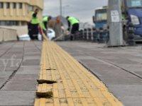 Ankara'da sarı engelli iz yolları ne zaman yeniden yapılacak?