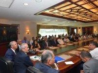 Büyükşehir Belediye Başkanı Mansur Yavaş muhtarlarla buluştu