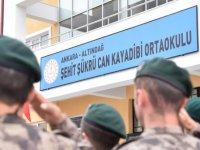 Şehit Şükrü Can Kayadibi'nin ismi Altındağ'da yaşayacak