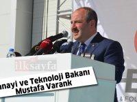 Mustafa Varank: Tünel açma makinesi üreten 8 ülkeden biriyiz