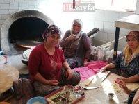 Ev hanımlarından hummalı kış hazırlığı