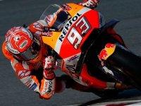 Aragon'da kazanan Marquez