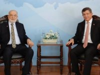 SP lideri Karamollaoğlu, Ahmet Davutoğlu ile biraraya geldi