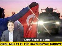 Ordu Millet El Ele Haydi Büyük Türkiye