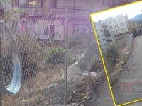 Kızılcahamam Belediyesi'nden tel örgülü önlem