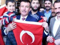 Altındağ'da harekata destek olmak için bayrak seferberliği başladı