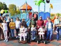 Başkent'e engelli çocuklara özel park