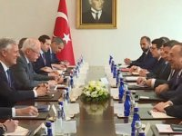 Bakan Çavuşoğlu, ABD Ulusal Güvenlik Danışmanı O'Brien ile görüştü