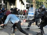 İspanya'da polis şiddeti