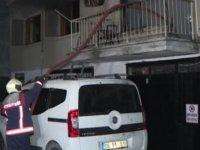 Çankaya Balgat'ta yangın: 5 kişi hastaneye kaldırıldı