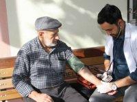 Beypazarı'nda ihtiyaç sahiplerine sağlık taraması