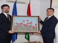 Başkanı Ramazan Şimşek'ten Macaristan'ın Ankara Büyükelçisi Viktor Matis' ziyaret