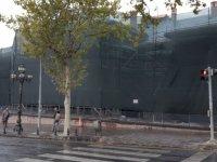Dualarla açılan asırlık yapı I.TBMM binası restore ediliyor