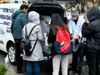 Ankara'daki  üniversitelerde çorba dağıtımı başladı