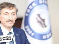 TDVS Başkanı Nuri Ünal: Diyanet, ülkemizin ve milletimizin gözbebeğidir