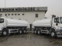 Yenimahalle Belediyesiaraç filosuna 2 adet sulama tankeri kattı