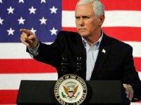Mike Pence'ten provokatif açıklama: ABD sizin yanınızda