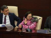 Gölbaşı'nda down sendromlu Esra Dulkadir belediye meclisi toplantısına katıldı