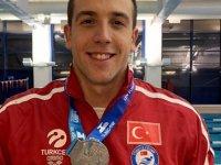 Milli yüzücü Emre Sakçı Avrupa 2'ncisi