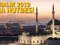 6 Aralık 2019 Cuma Hutbesi yayınlandı! - Diyanet İşleri Başkanlığı 6.12.2019