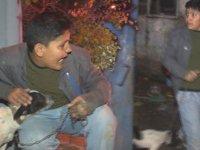 Gecekondu alev alev yandı, 7 kişilik aile ölümden döndü