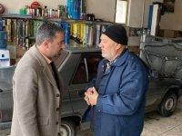 Pursaklar Belediye Başkanı Ertuğrul Çetin'in esnaf ziyaretleri devam ediyor