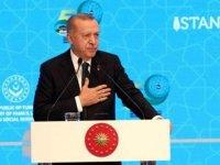 Erdoğan'dan Macron'un o sözlerine sert tepki: Karşımızda susuyor