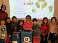 Keçiören'de minik öğrencilere çevre eğitimi