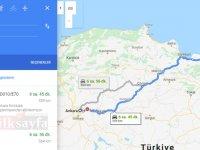 Ankara Ordu arası kaç km? Ankara Ordu arası kaç saat? Ankara Ordu Yol Tarifi, Ankara Ordu Otobüs Bileti Fiyatları...